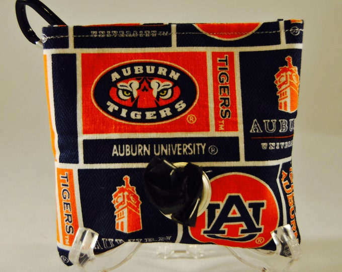 Auburn poop bag pouch