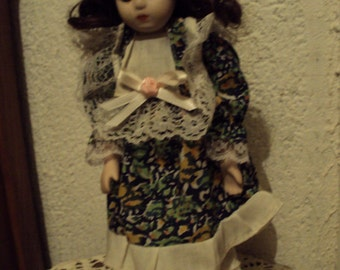 Doll collection in the 1970s.
