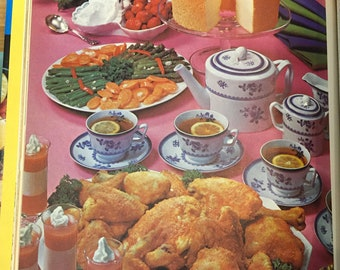 Family Circle Illustrated Library of Cooking  Volume 10  from 1972
