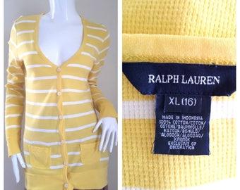 Ralph Lauren Women Cotton Blouse Size XL (16)