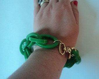 Handmade Modern Plastic Chain Bracelet
