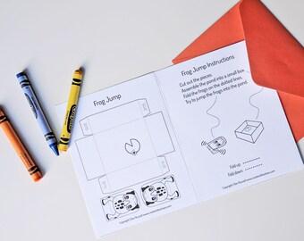 Kids Snail Mail Kit - Printable Crafts to Mail