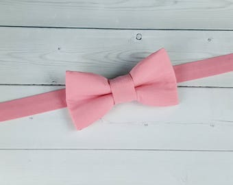 Baby Bow Tie, Toddler Bow Tie, Mens Bow Tie, Bow Tie, Pink Bow Tie, Suit Tie, Boys Bow Tie, Wedding Bow Tie, Bowtie, Ring Bearer Bow Tie