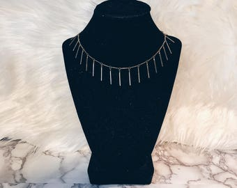 Pin-striped Choker