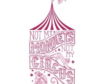 Not My Monkeys, Not My Circus