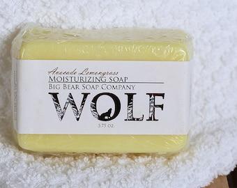 Wolf Avocado Lemongrass Moisturizing Soap 5ozs.