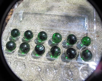 12 Glass Spheres, Crystal Balls, Meditation Tools-WHOLESALE