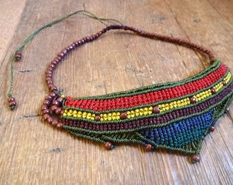 Macrame multicolor Necklace