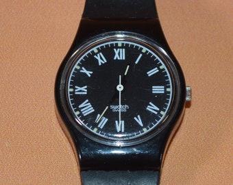 vintage Swatch watch ladies size 1990 serial number 5755