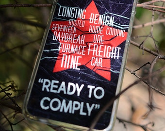 The winter Soldier phone case trigger words ready to comply--Pls find devices in Description