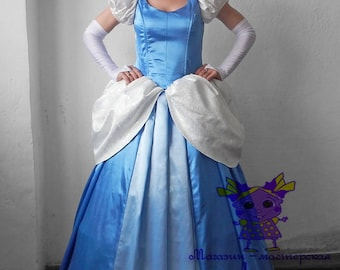 Cinderella. Animator-actor suit