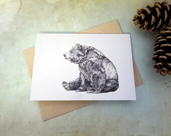 Bear // Greeting Card