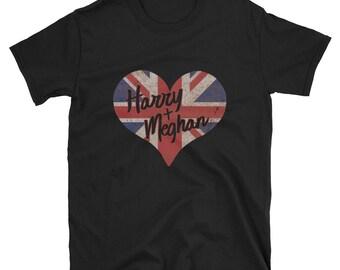 Harry And Mehgan Royal Wedding Love T Shirt
