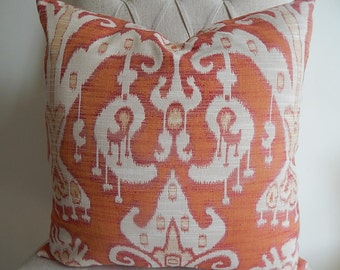 Designer fabric by kravet pillow cover accent pillow,decorative pillow,throw pillow accent pillow ,same fabric front and back.