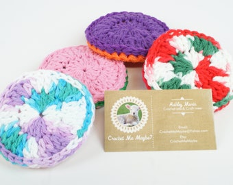 Double Thick Two-Sided (Cotton/Nylon) Scrubbies