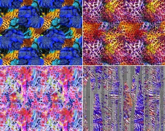 Seamless pattern 64cm print Pack Fitness texture Animal Skin print Digital rotating textile Rapport Fashion Art printable