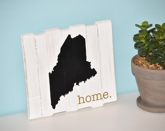 Maine Home Sign