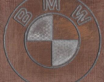 stemma auto, stemma bmw, stemma legno, coat of arms, car bmw, car emblem
