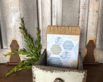 Address Box, Wedding Guest Book, Guest Book Alternative, Address Cards, Costal, Nautical