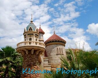 Disney World Magic Kingdom Ariel's Castle Magnet #1-READY TO SHIP