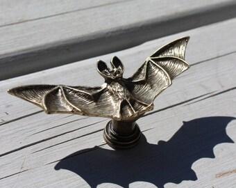 Bat drawer knobs - furniture knobs - Cabinet Knobs in Brass (MK120)