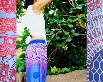 Harem Pants // Bohemian Style Pants // Boho Chic // Music Festival Clothing // Hippie Pants