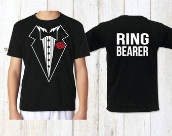 Ring Security, ring bearer, boys tshirt, ring bearer shirt, wedding, ring bearer gift, wedding gift