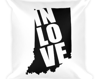 In LOVE with Indiana | Throw Pillow