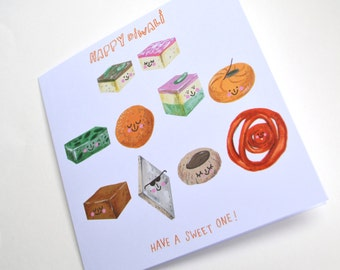 Diwali Card - Sweets