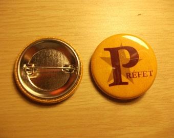 Hogwarts prefect badge