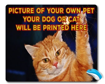 Personalized cat, Personalized mouse pad, Custom mousepad, Personalized pad, Personalized gift, Photo Mouse Pad, Best Mouse pad, photo gift