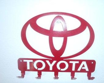 Key Rack Toyota Metal Art