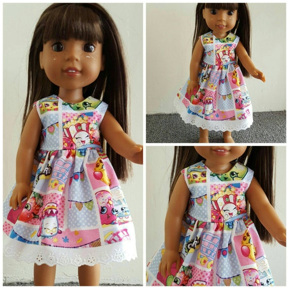 Shopkins Dress for 14.5 Inch Doll Wellie Wisher