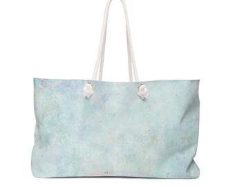 Watercolor Paint Weekender Bag