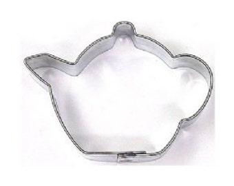 """Mini Teapot Cookie Cutter for Girls Tea Parties or Red hat 1.75"""""""