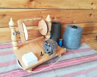 Electric spinning wheel Matrena for Art Yarn