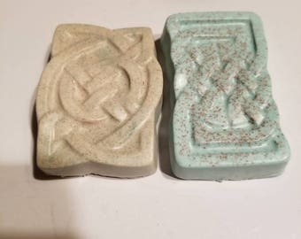 2 bars herbal soap