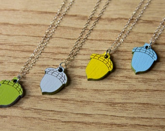 Petit Acorn Necklace