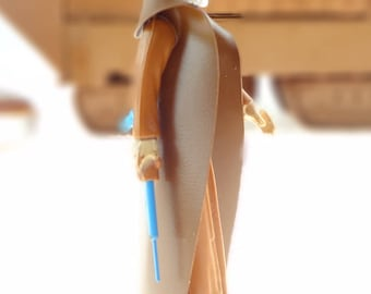 Obi-Wan Kenobi Star Wars Action Figure With Cape And Nice Lightsaber