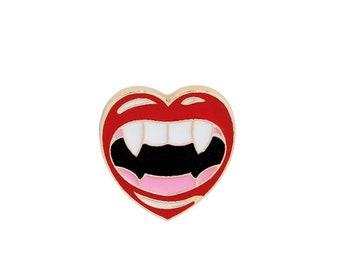 Pin's mouth vampire