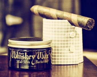 Whiskey Wax Pomade (Water Based)
