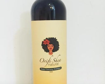 Orifi Shea Natural Deep cleansing shampoo 12oz