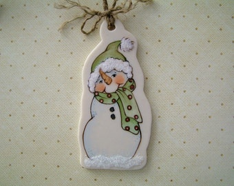 Jr. Snow Ornament
