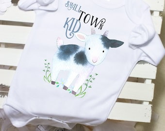 Country Onesie®, Goat Onesie®, Cute Onesies®, Country Baby Boy Clothes, Country Baby Shower Gift, Farm Onesie®, Country Baby Girl Clothes