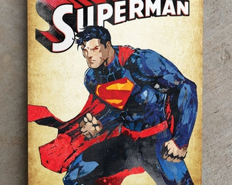 Superman - Clark Kent - Kal El Metal Plate