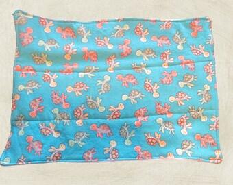 Sea Turtle Flannel/Diaper Burp Cloth