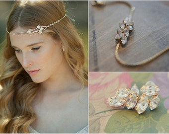 Boho bridal jewelry Etsy