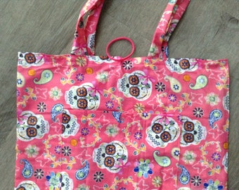 shopping tote bag made of cotton fabric