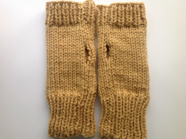 Funky Owl Fingerless Gloves Knitting Pattern Festooning - Sewing ...