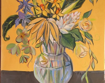 Still Life with Yellow and Gray